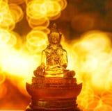 Undeutliche Statue von Buddha Stockfoto