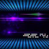 Undeutlicher glühender Neoneffekthintergrund. Stockfoto