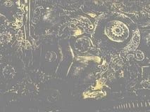Undeutlicher mechanischer Hintergrund Lizenzfreies Stockfoto