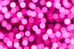 Undeutlicher rosa heller Hintergrund und Beschaffenheit in der Nacht Lizenzfreie Stockbilder