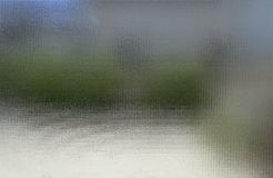 Undeutliches Freien durch das Glas Stockbilder
