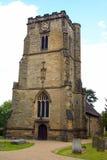 Undicesima chiesa dei michaels del san di secolo in Crawley Immagini Stock Libere da Diritti