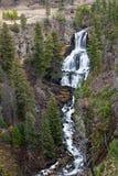Undine Falls en Yellowstone Fotografía de archivo libre de regalías