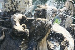 Undine Fountain Royalty Free Stock Image