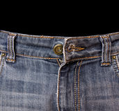 Undone trousers Stock Images