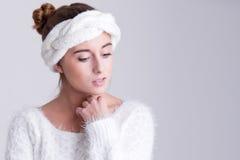 Undra för modekvinna royaltyfria foton