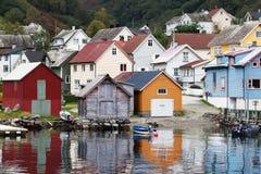 Undredal από το Sognefjord Στοκ Φωτογραφία