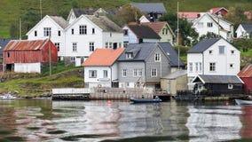 Undredal σε Aurlandsfjord Στοκ φωτογραφίες με δικαίωμα ελεύθερης χρήσης