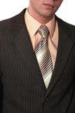 Undressing dell'uomo d'affari Fotografia Stock Libera da Diritti