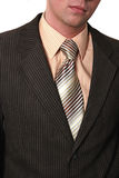 Undressing do homem de negócios Fotografia de Stock Royalty Free