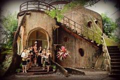 Unduk Ngadau en Nunuk Ragang, Borneo del norte Fotos de archivo
