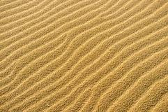 Undulated sand Royalty Free Stock Image