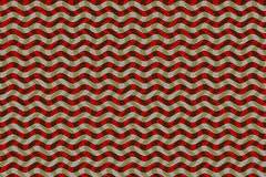 Undulating mesh Color or Pattern. Design for textile pattern or background of geometric screen. With wavy lines and colors interlaced and kinetic effect Royalty Free Stock Images