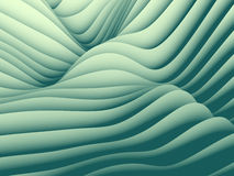 Undulating Wave Design Pattern Stock Images