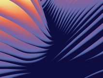 Undulating Wave Design Pattern. Dynamic background pattern of abstract overlapping undulating waves Royalty Free Stock Photography