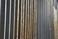 Undulation da parede da fibra do teste padrão do fundo Fotografia de Stock