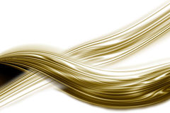 Undulation Golden Background Stock Photo