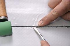Undvik skrynklor, kapillär och fiskmunnar Royaltyfria Foton