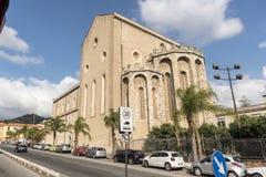 Une église à Messine Sicile Photo stock