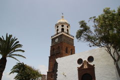 Une église à Teguise Image stock