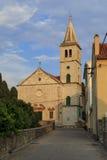 Une église croate Photographie stock