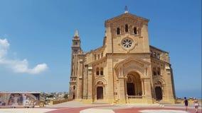 Une église dans Gozo banque de vidéos