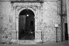 Une église dans Sicilia Images stock