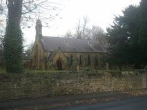 Une église de village Photos stock