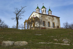 Une église plus blanche Images libres de droits