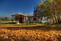 Une église près de Boboshevo Photo stock