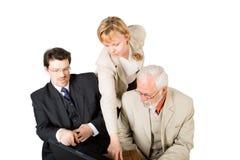 Une équipe d'affaires (2) Images stock