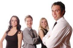 Une équipe d'affaires Image stock