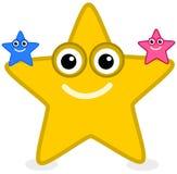 Une étoile de mer jaune Photographie stock libre de droits
