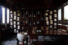 Une étude antique chinoise photo libre de droits