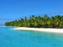 Une île de pied, îles Cook Photo libre de droits