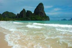 Une île parfaite, des vacances parfaites ! Photographie stock libre de droits