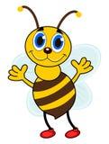Une abeille simple avec des chaussures Image stock