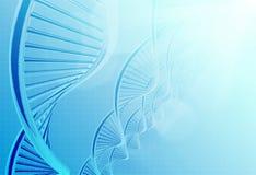 Une ADN dans la couleur médicale illustration de vecteur