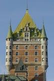 Une aile d'un château français Image libre de droits