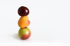 Une alimentation équilibrée Photos stock