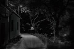 Une allée en Visby Gotland image stock