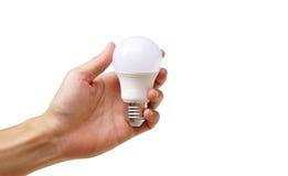Une ampoule de LED photographie stock libre de droits