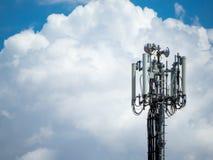 Une antenne de téléphone numérique Photos stock