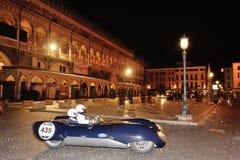 Une apogée bleue de Lotus Mk IX Images libres de droits