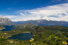 Une autre vue de Bariloche Photographie stock libre de droits