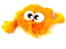 Une bête orange avec de grands yeux photographie stock libre de droits