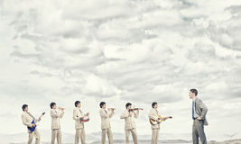 Une bande d'homme Photographie stock libre de droits