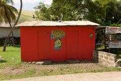 Une barre géniale sur Bequia Photo stock