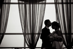 Une beaux mariée et marié Photographie stock libre de droits