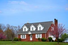 Une belle maison Photos stock